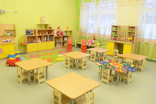 В детских садах ребятишкам рады