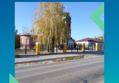 В Павловке достраивают ограждение Храма
